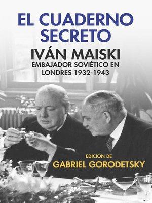 cover image of El cuaderno secreto