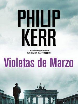 cover image of Violetas de Marzo