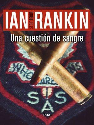 cover image of Una cuestión de sangre