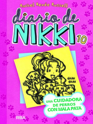 cover image of Diario de Nikki 10. Una cuidadora de perros con mala pata