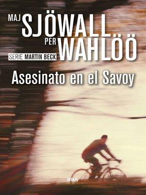 cover image of Asesinato en el Savoy