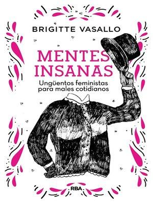 cover image of Mentes insanas