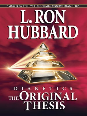 cover image of Dianetics: The Original Thesis
