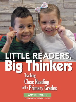 cover image of Little Readers, Big Thinkers