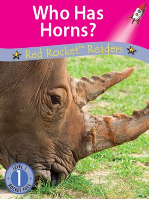 cover image of Who Has Horns?