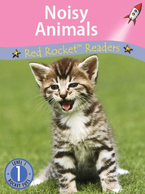 cover image of Noisy Animals