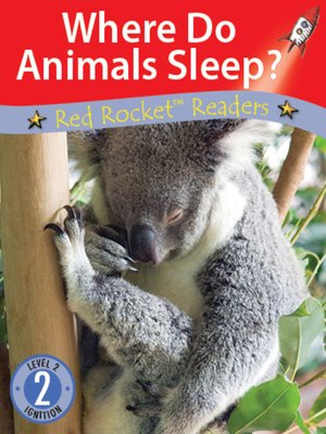cover image of Where Do Animals Sleep?