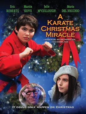 cover image of A Karate Christmas Miracle