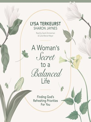 cover image of A Woman's Secret to a Balanced Life