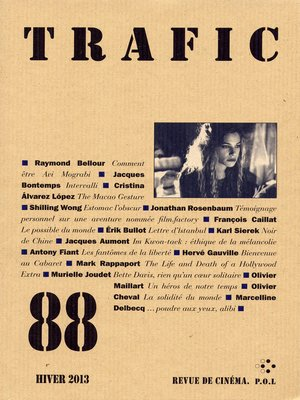 cover image of Trafic 88