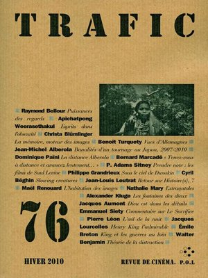 cover image of Trafic 76
