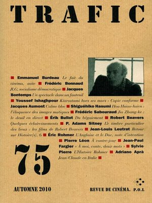 cover image of Trafic 75
