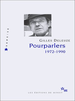 cover image of Pourparlers. 1972-1990