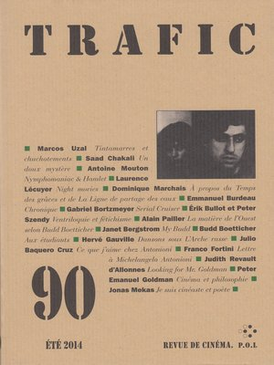 cover image of Trafic n° 90 (Été 2014)