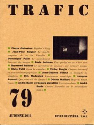 cover image of Trafic 79