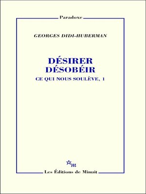 cover image of Désirer désobéir