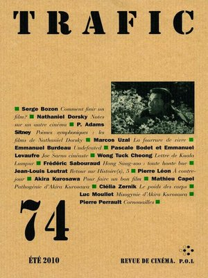 cover image of Trafic 74