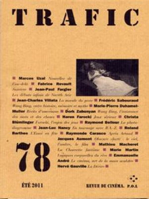 cover image of Trafic 78