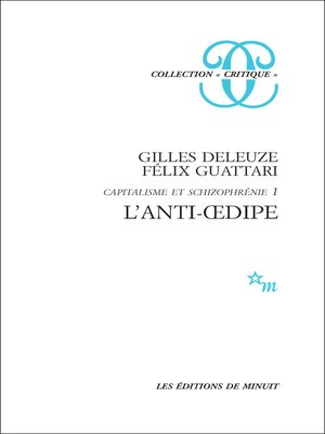 cover image of L'Anti-Œdipe