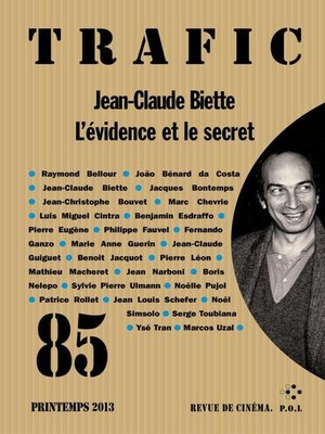cover image of Trafic 85