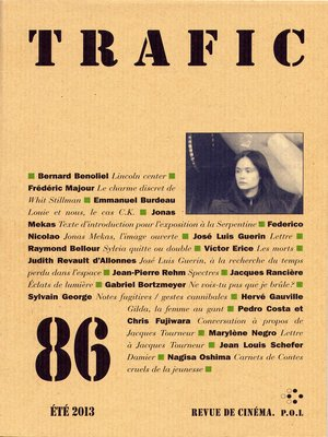 cover image of Trafic 86