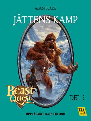 cover image of Beast Quest--Jättens kamp