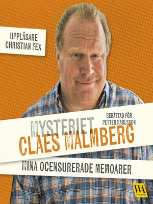 cover image of Mysteriet Claes Malmberg