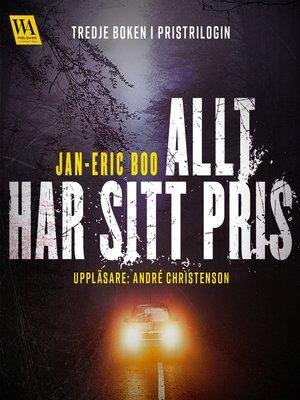 cover image of Allt har sitt pris