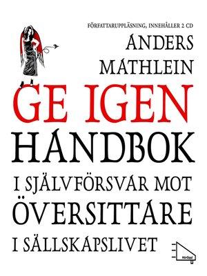 cover image of Ge igen