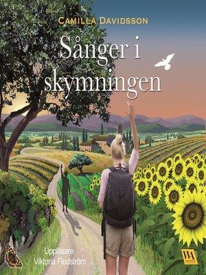 cover image of Sånger i skymningen