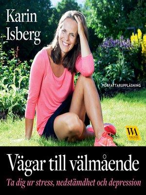cover image of Vägar till välmående