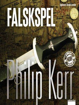 cover image of Falskspel