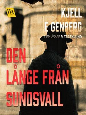 cover image of Den långe från Sundsvall