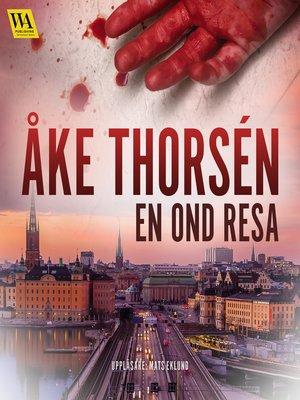 cover image of En ond resa