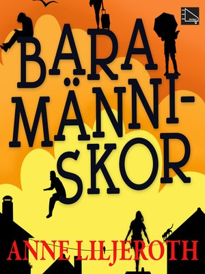 cover image of Bara människor