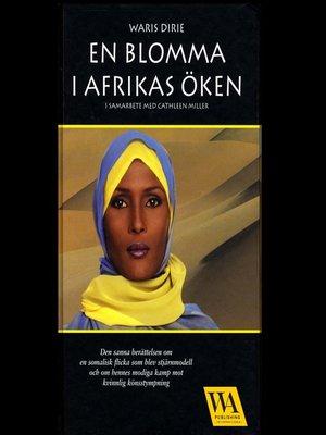 cover image of En blomma i Afrikas öken