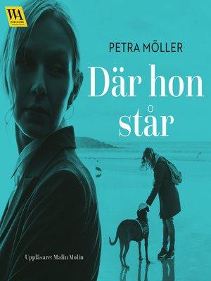 cover image of Där hon står