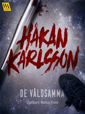 cover image of De våldsamma