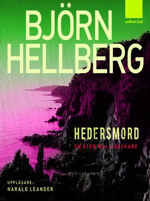 cover image of Hedersmord