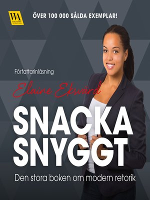 cover image of Snacka snyggt