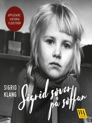 cover image of Sigrid sover på soffan