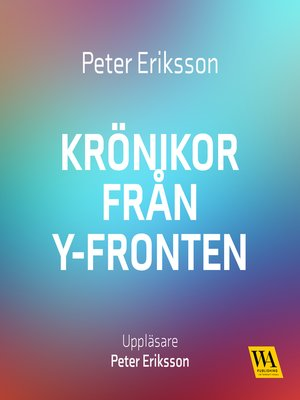 cover image of Krönikor från Yfronten