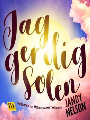cover image of Jag ger dig solen