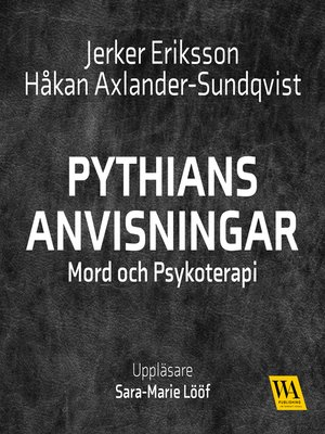 cover image of Pythians anvisningar