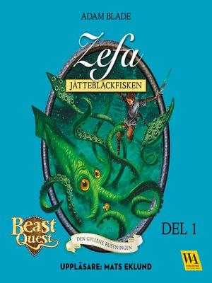 cover image of Zefa--jättebläckfisken