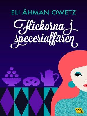 cover image of Flickorna i speceriaffären