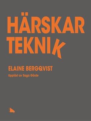 cover image of Härskarteknik