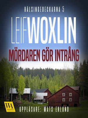 cover image of Mördaren gör intrång