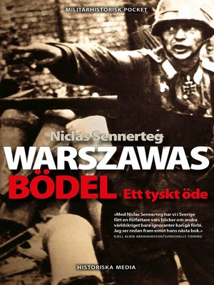 cover image of Warszawas bödel