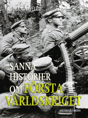 cover image of Sanna historier om första världskriget